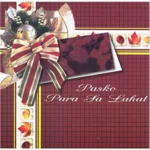 Pasko Para Sa Lahat   Philippine Tagalog Music CD: Music