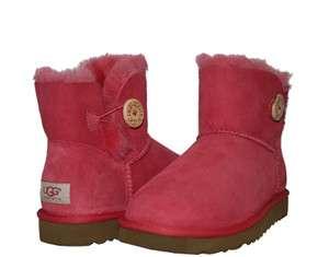 Mini Bailey Button Tea Rose Pink Womens Winter Boots 3352 TEAR