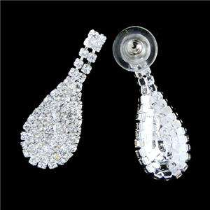 , decked up with shimmering clear Austrian Rhinestone crystals