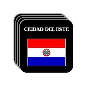 Paraguay   CIUDAD DEL ESTE Set of 4 Mini Mousepad