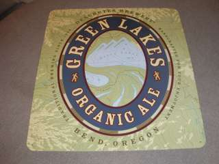 NEW DESCHUTES BREWERY GREEN LAKES ORGANIC ALE METAL BEER SIGN BEND