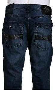 Do Denim Mens Designer Jeans MZ7210 W38 X L33 MSRP $89