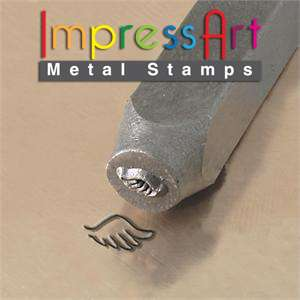 ImpressArt Metal Jewelry Steel Design Stamp  Right Wing
