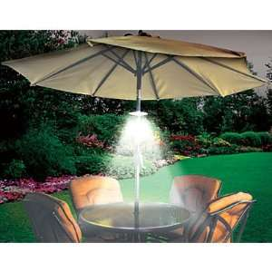 OUTDOOR PATIO UMBRELLA LIGHT LED BATTERY OPERATED: Home