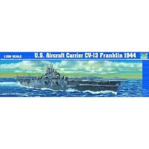 TRUMPETER SCALE MODELS   1/350 USS Franklin CV13 Aircraft