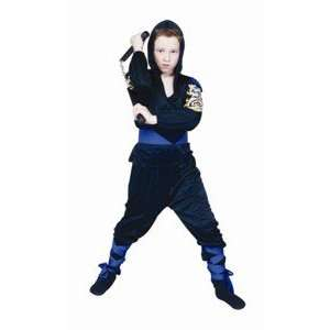 Ninja Dragon Mast   Blue, Child Large Costume Toys