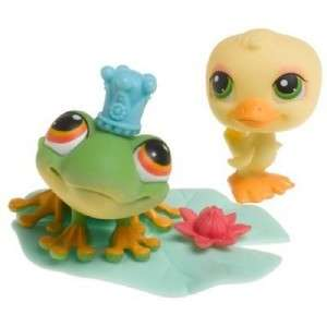 Littlest Pet Shop New FROG #50 DUCK #51 RETIRED NIB 04