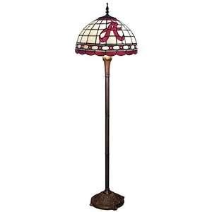 Alabama Crimson Tide Tiffany Floor Lamp