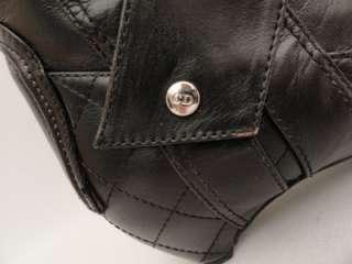BN Christian Dior Black Leather Knee Boots /Shoes UK3/EU36   RARE