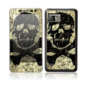 Graffiti Skull and Bones Design Protective Skin Decal