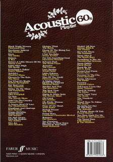Acoustic Playlist 60s   Lyrics & Chords (with Chord Boxes) Mixed