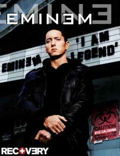 EMINEM I AM LEGEND T SHIRT RECOVERY RELAPSE CD ALBUM