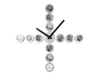 Karlsson DIY Customizable Photo Frame Wall Clock NIB |
