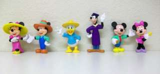 DISNEY MICKEY MOUSE, DONALD DUCK,GOOFY FIGURES