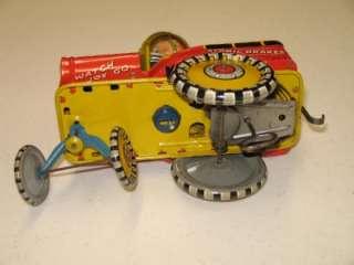 Vintage Unique Art GI JOE And His JOUNCING JEEP Super Sharp Toy