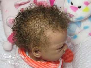 NURSERY   AA ethnic biracial baby reborn girl Evelina Wosnjuk