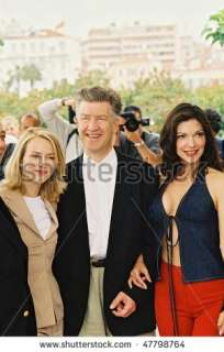 Cannes, France   May 16 Naomi Watts , Director David Lynch And Laura