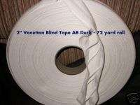 Wooden Metal Venetian Blind Parts Cloth Tape Roll DOUA