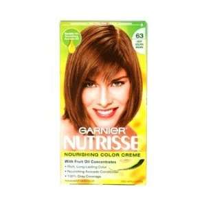 Garnier Nutrisse Nourishing Color Creme with Fruit Oil Concentrate #63