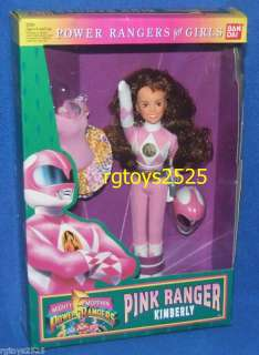 Mighty Morphin Power Rangers Pink Ranger Doll Kimberly New