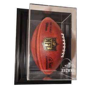 Cleveland Browns Football Vertical Wall Mount Display Case
