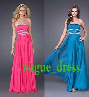 New Womens Wedding Evening Formal Prom Long Dress 3 Color 3 Sz