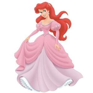 Ariel Peel & Stick Giant Wall Decal with Gems