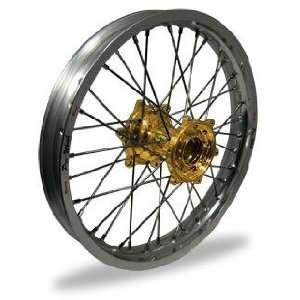 Pro Wheel Pro Wheel 2.15x19 MX Rear Wheel   Silver Rim/Gold Hub