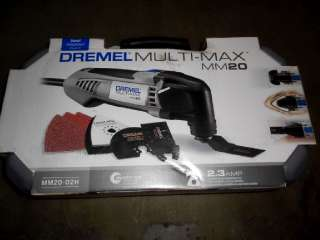DREMEL MULTI MAX 2.3 AMP OSCILLATING TOOL KIT MM20 02H