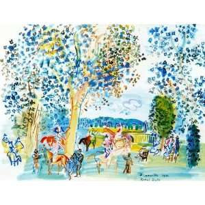 Hand Made Oil Reproduction   Raoul Dufy   24 x 18 inches