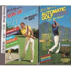 Lets Get Started and Son of Automatic Golf: Specialty Shots [2] VHS