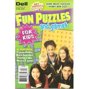 Dell Fun Puzzles and Games for Kids (April 2012) Various