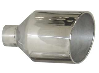 In 12 Out x 18 Diesel Exhaust Tip Stainless Steel