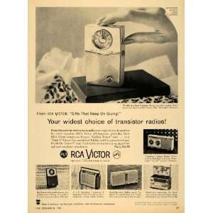 1959 Ad Radio Corporation America RCA Victor Radio