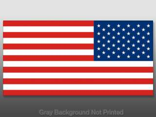 Reverse American USA Flag Sticker  America flags car us