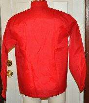 VTG GENERAL ELECTRIC GE EBERT RED WINDBREAKER JACKET M
