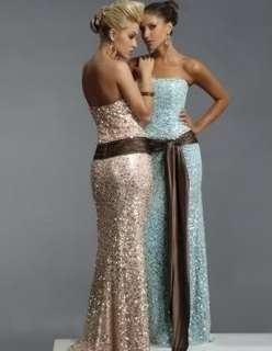 New Evening prom dress gown bridesmaid custom size 6 8 10 12 14 16 18