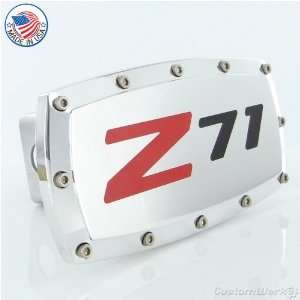 Chevy Z71 Logo Tow Hitch Cover Automotive