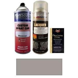 12.5 Oz. Medium Pewter Metallic Spray Can Paint Kit for 1987 Nissan
