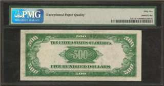 Rare 1934 $500 Five Hundred Dollar Star Note Bill, Philly District