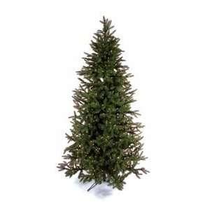 7.5 Frasier Fir White Pre lit Christmas Tree Cone