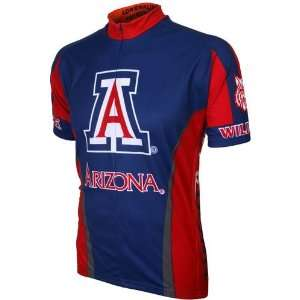 Arizona Blue Dri Fit Cycling   Bike Jersey