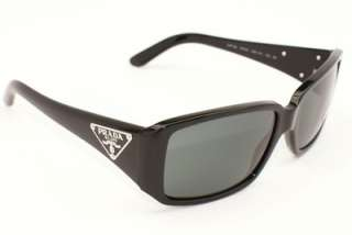 Prada Sunglasses Brand New Authentic Mod PR 16LS SPR 16L 1AB 1A1 Black