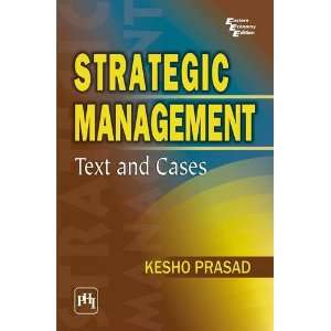 Strategic Management Text and Cases (9788120338098