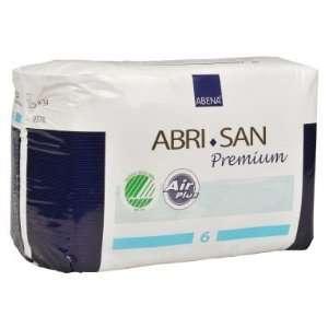 Abena Abri San 6 Premium Incontinence Pads   Case of 102