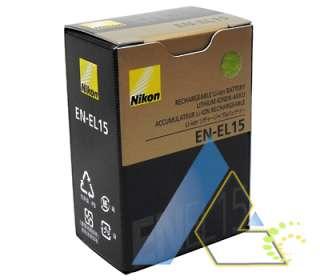Nikon Original EN EL15 ENEL15 Battery Pack for D7000