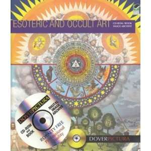 Esoteric and Occult Art with CD rom