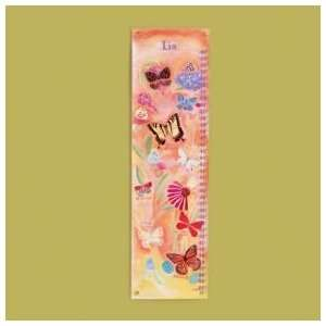 Kids Growth Charts Kids Personalized Butterflies Growth