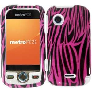 Hard Pink Zebra Case Cover Faceplate Protector for Huawei