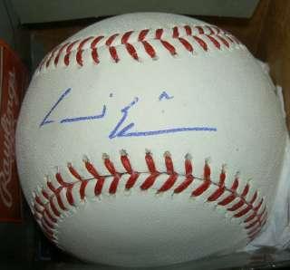 ANDRE ETHIER AUTOGRAPH SIGNED MLB BASEBALL DODGERS COA